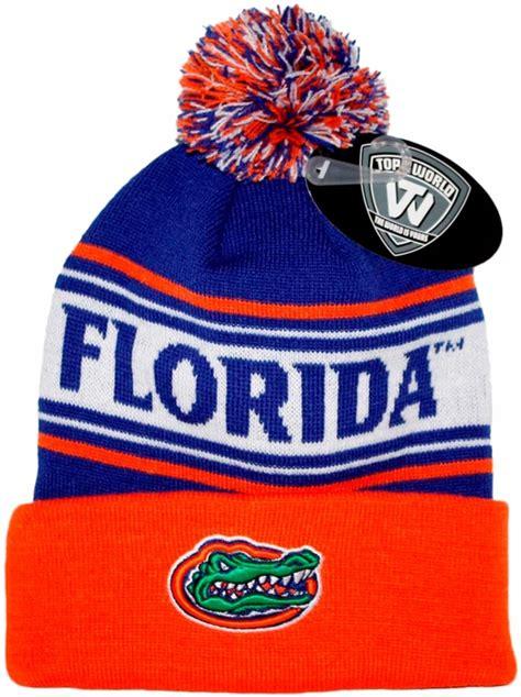 florida gators knit hat florida gators top of the world quot ambient quot cuffed knit hat