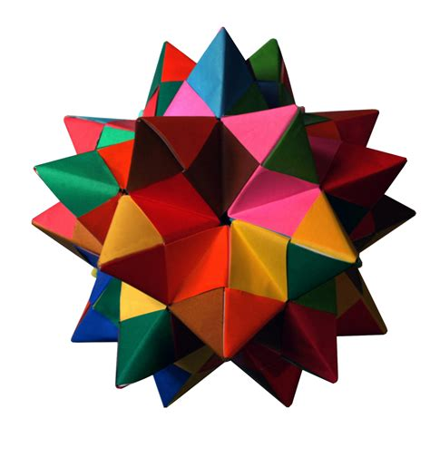 modular origami dodecahedron spiked pentakis dodecahedron
