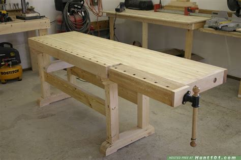 woodworking bench top wood choice for workbench top