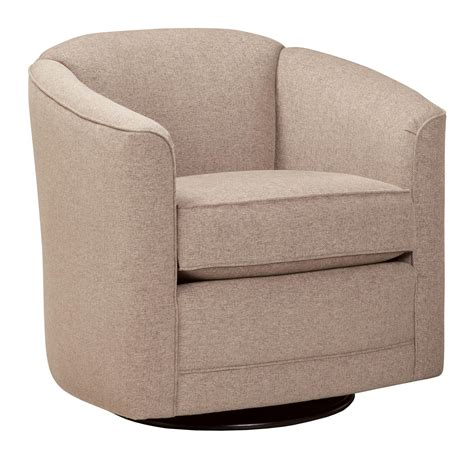 barrel swivel chairs upholstered smith brothers 506 swivel glider chair with barrel back