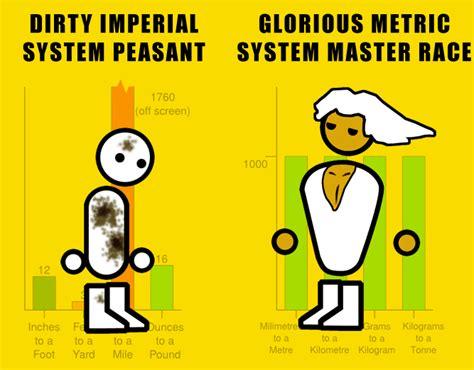 metric vs imperial imperial vs metric the glorious pc gaming master race