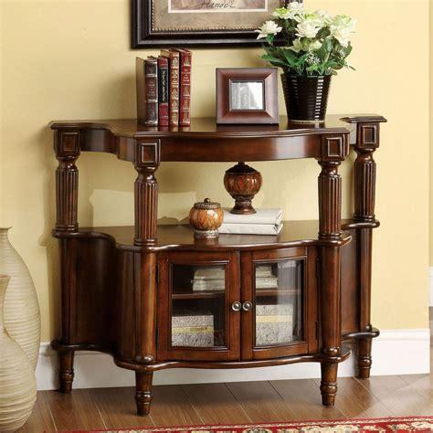 ebay home decor furniture of america classic antique walnut