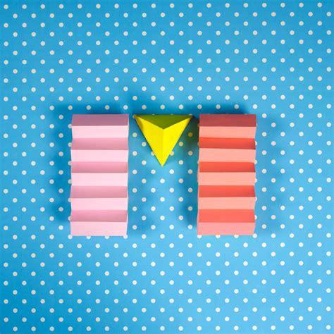 paper craft letters colorful paper craft alphabet fubiz media