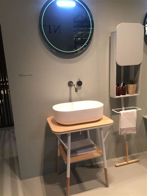 freestanding sink bathroom storage bathroom shelf designs and ideas that support openness and
