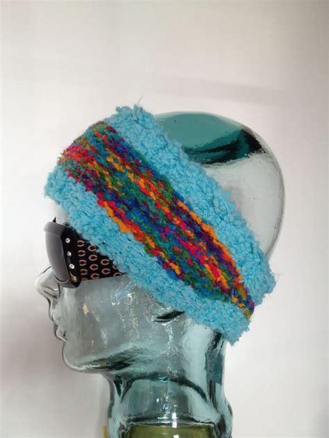 ear warmer loom knitting pattern tapered ear warmer loom knit pattern by breaux