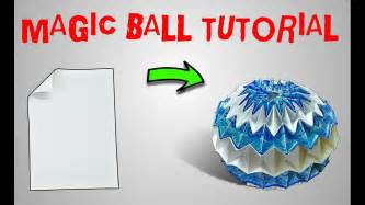 origami sphere tutorial origami origami magic tutorial part 2 origami