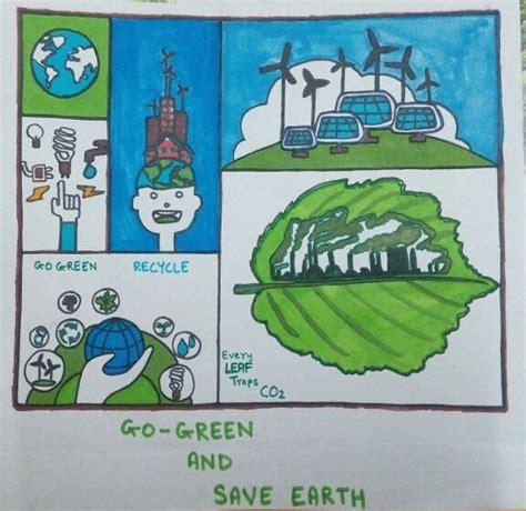 Description Go Green And Save Earth Unpublished Platform
