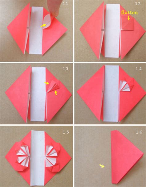 paper hearts origami how to make origami hearts step by step hairstyles