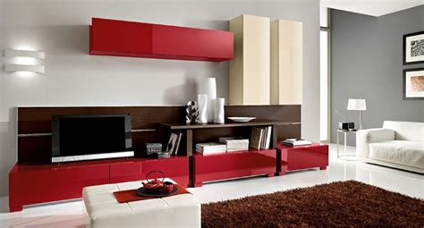 modern living room with color d s furniture