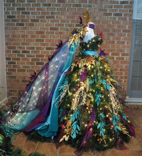dressed trees best 25 tree dress ideas on