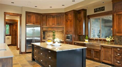 Southwestern Home Designs 26 craftsman kitchens that will have you loving natural wood