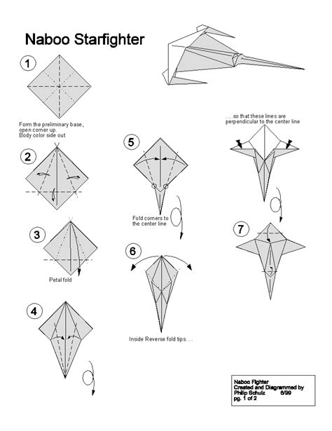 how to make origami wars ships extremegami how to make a origami naboo starfighter