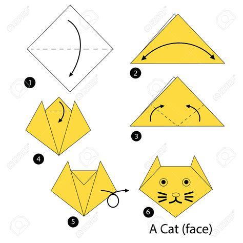 how to make an origami cat origami origami cat do origami origami cat