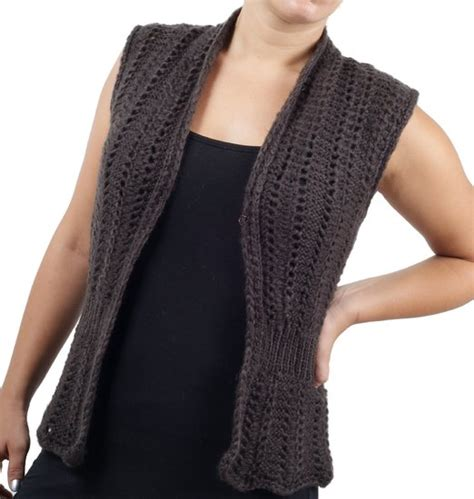 sleeveless jacket knitting pattern cheap knitted vest pattern find knitted vest