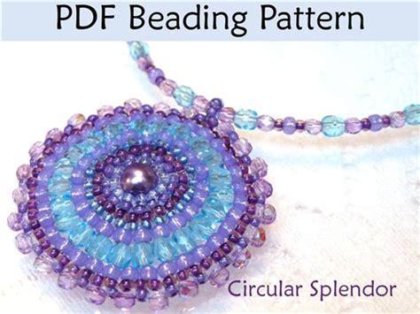 beading stitches free brick stitch seed bead patterns circular brick