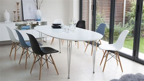 White Oval Dining Table Uk by White Modern Oval Dining Table Design Tedxumkc Decoration