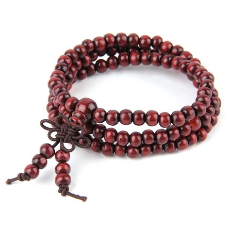 tibetan mala wholesale wholesale 6mm sandalwood bead prayer japa