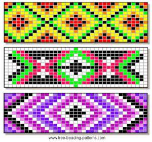 bead patterns barrettes seed bead patterns i make jewelry