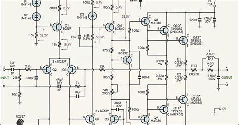 Magazin Motoare Electrice 220v by Lificator Cu 2n3055 Si Mj2955 Putere 50 70w Scheme