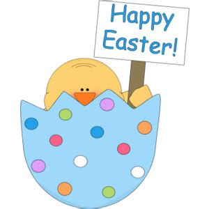 Free Happy Easter Clip by Easter Theme Clipart Clipground