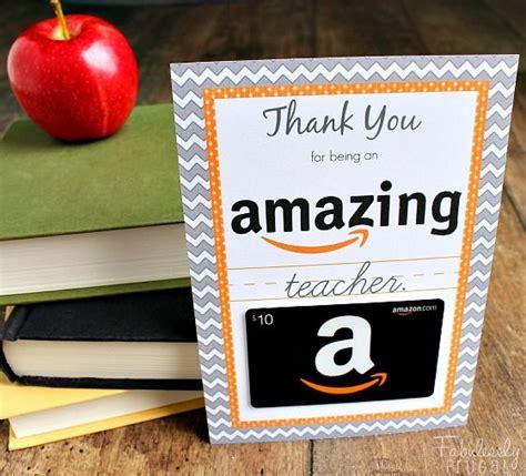 card ideas for teachers appreciation gift ideas