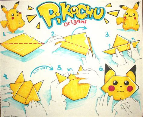 origami pokemons origami diagrams images images