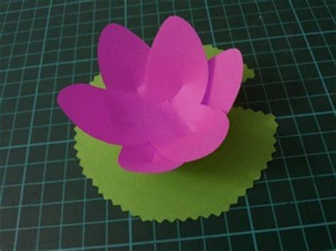 lotus flower paper craft vesak day activities paper lotus mumsibles