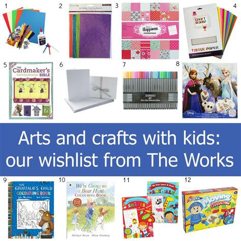 arts and crafts websites for arts and crafts with our wishlist from the works
