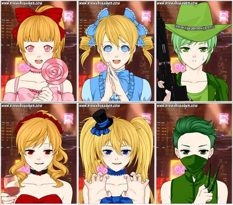 anime creator mega anime avatar creator ppgz and ppnkg by ange520wing on