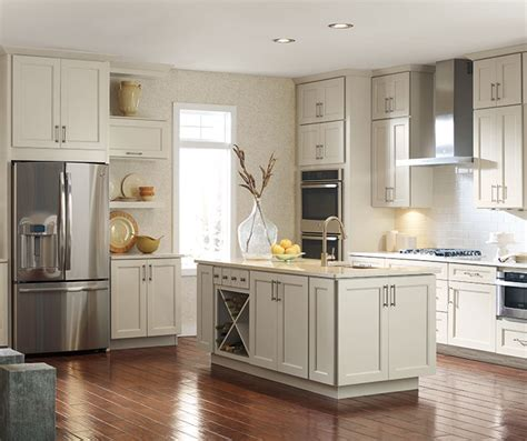 painted cabinets in kitchen painted maple cabinets in a casual kitchen kemper