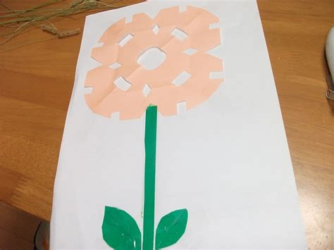easy crafts with paper easy paper flowers craft preschool education for