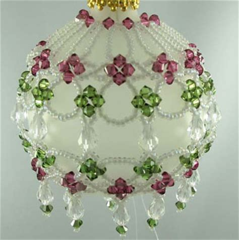 beaded ornament cover patterns free free beaded ornament cover patterns