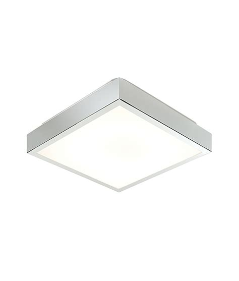 square bathroom lighting square chrome flush bathroom fixture for 2d fluorescent ls