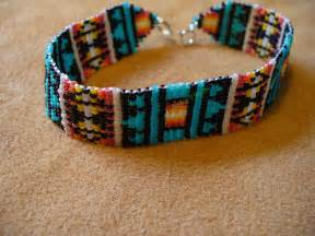 how to make indian beaded bracelets loom square stitch beaded american inspired by