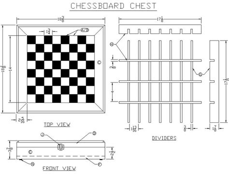 chess board plans woodworking chessboard dimensions build a chessboard chest from