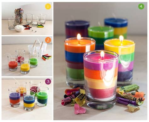 to make at home how to make crayon candles at home step by step