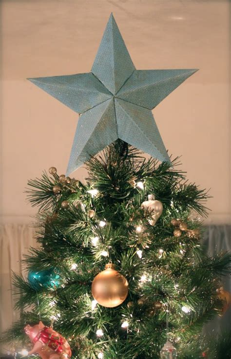 make your own tree topper tree topper archives home and diy