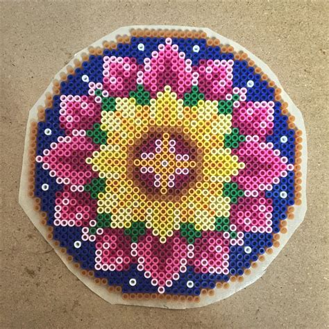 perler bead flower designs 2599 best images about perler hama on