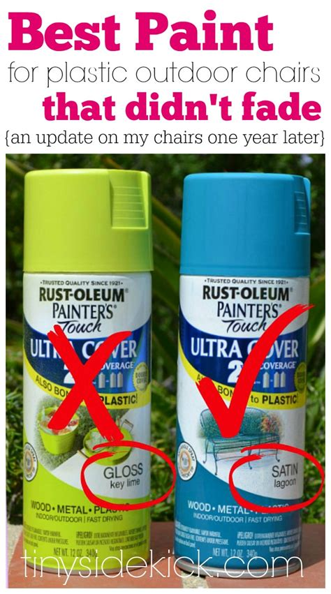 spray painting outside while spray painted plastic outdoor chairs update one year later