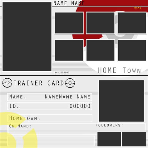 make my own trainer card trainers card by zelroy on deviantart