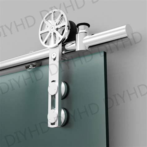 sliding glass barn door hardware aliexpress buy european style stainless steel