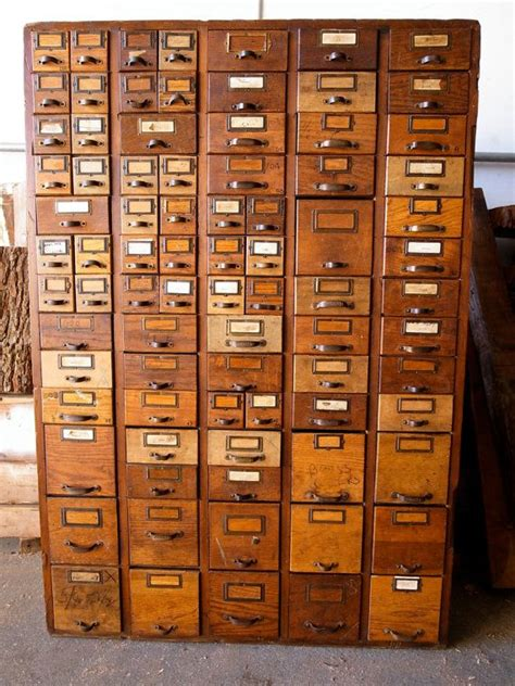 how to make a card catalog cabinet card catalog hardware store cabinet