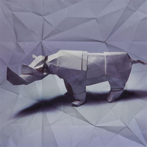 origami rhinoceros marc fichou s origami animals