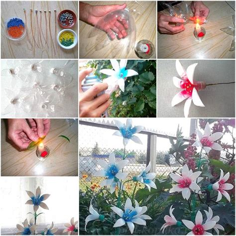 plastic water bottle crafts for how to make painted plastic water bottles crafts flowers