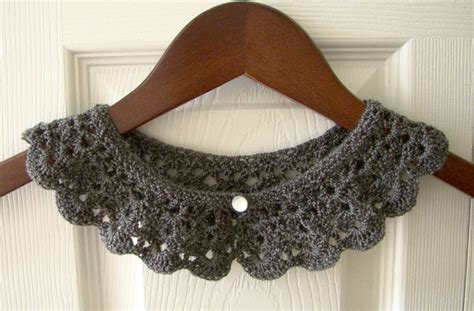 how to knit collar pan crochet collar knit collar child toddler collar