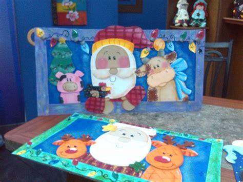 cuadros goma eva cuadros de navidad santa en foami o goma eva mis
