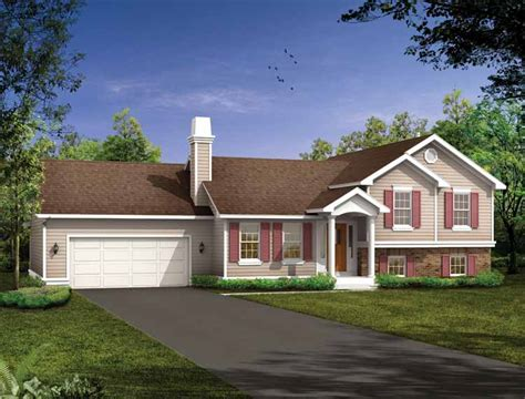 split level home designs split level house plans at eplans house design plans