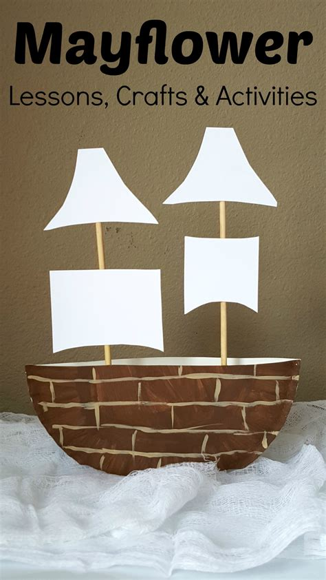 mayflower crafts for mayflower paper plate craft projects for
