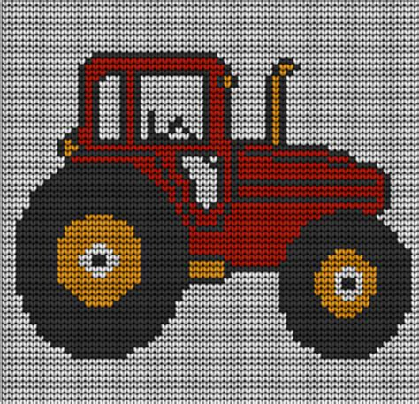free tractor knitting pattern ravelry toddlers tractor jumper knitting pattern