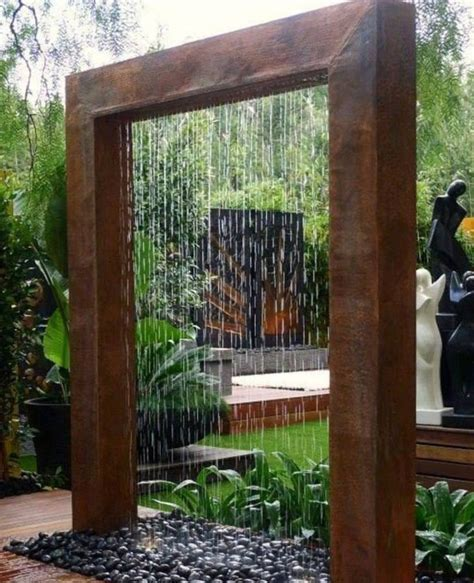 backyard feature wall ideas top three diy water feature ideas for the home owners